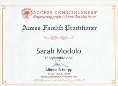 Sarah Modolo - Thérapeute - Fleurier - Access Facelift