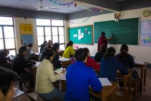 Sarah College class
