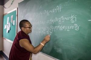 Teaching at the College for Tibetan Studies at Sarah