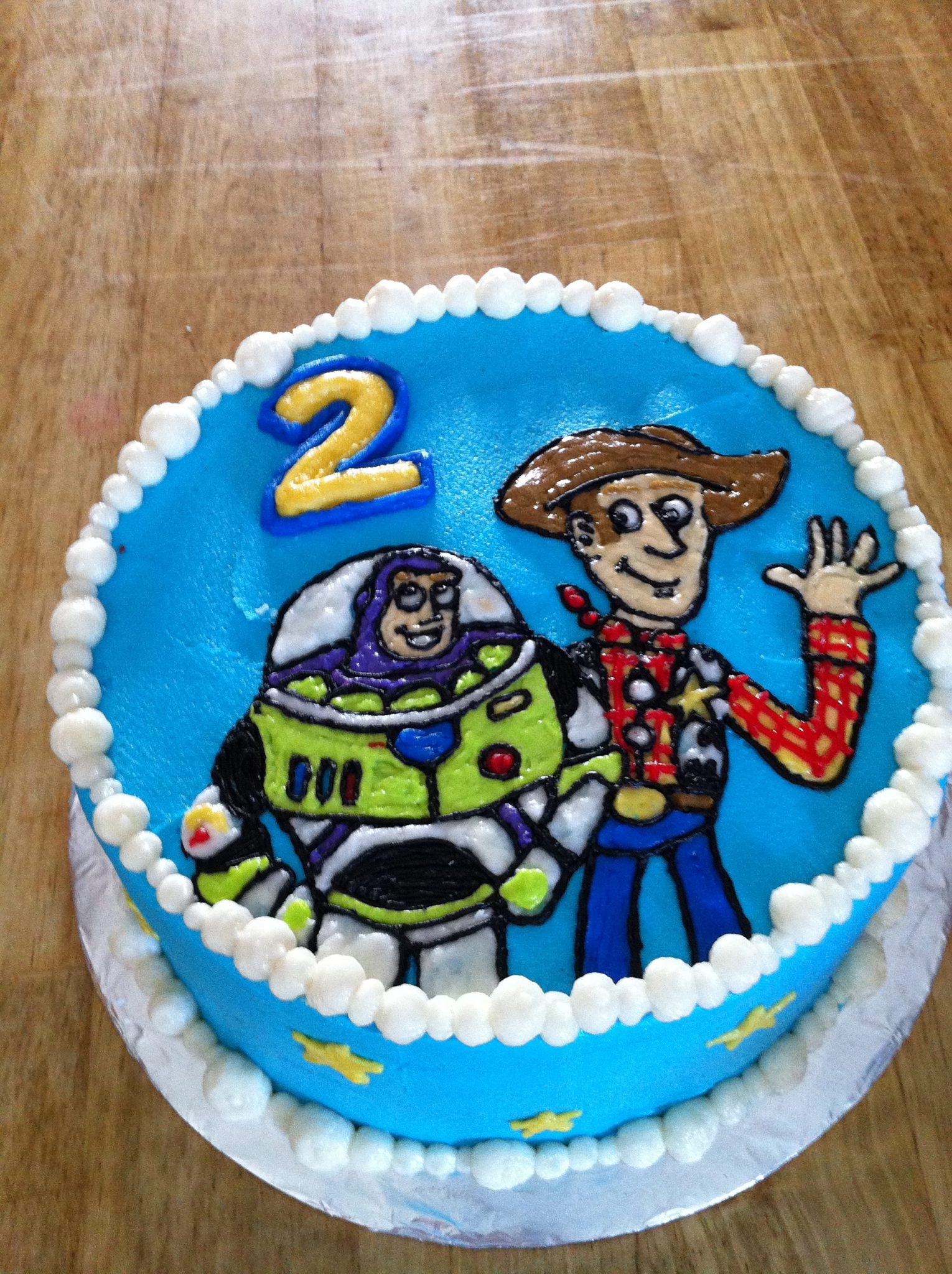 Woody And Buzz Cake Lidbom Rambling Roadshow