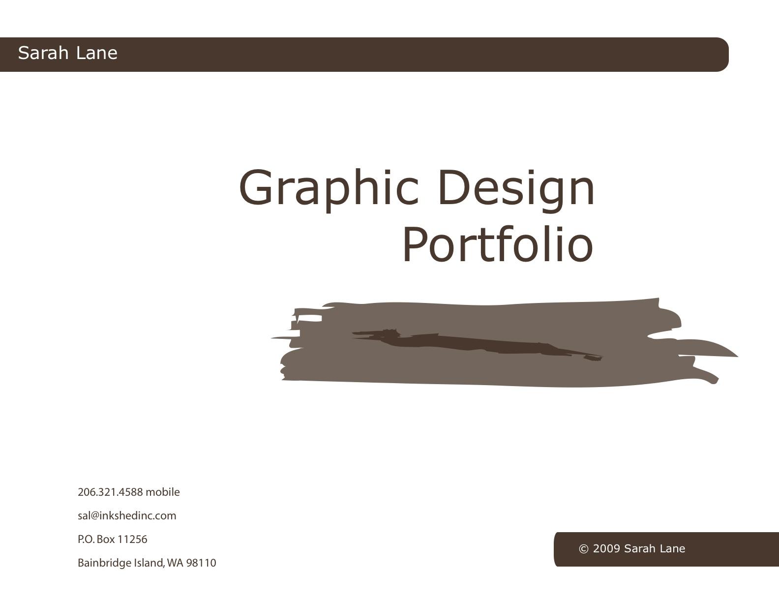 graphic design portfolio pdf - Hizir kaptanband co