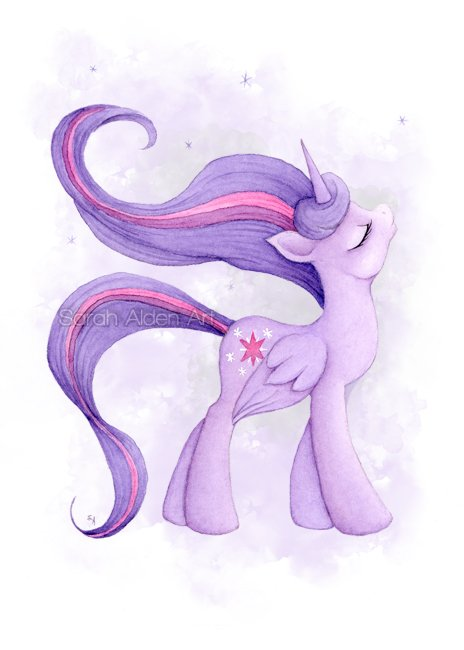 Twilight Sparkle Sarah Alden Art