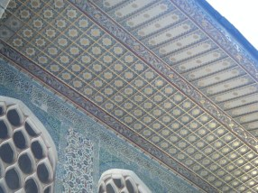 Roof detailing in the Harem at Topkapi Palace