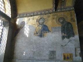 The Deesis Mosiac, Hagia Sophia