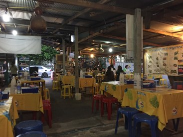 Wonderful restaurant we found! Lots of locals and very little English spoken, but we enjoyed the most wonderful service and food, and the prices were about 1/4 of the beach towns in Phuket. $0.10 for rice, and about $1-2 for our entrees. We will come back.
