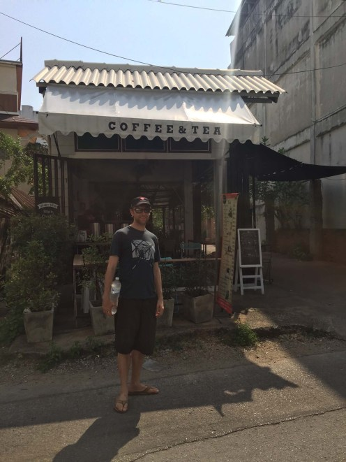 Local coffee shop, Lampang.