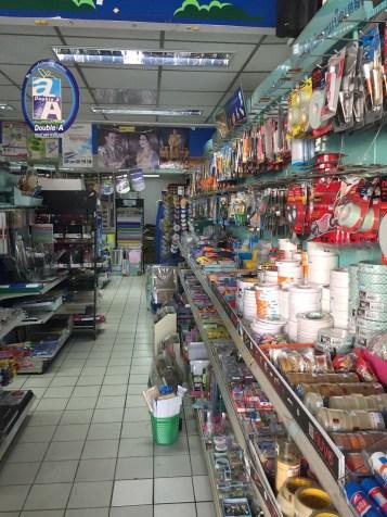 Love the stationary stores, Lampang.