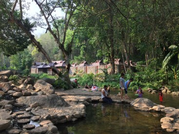 Hot springs just outside Lampang.