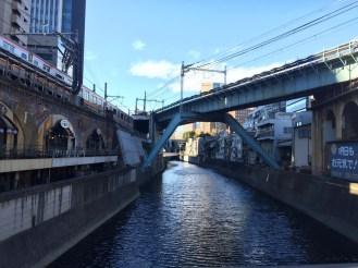 Walking through Akihabara, Tokyo.