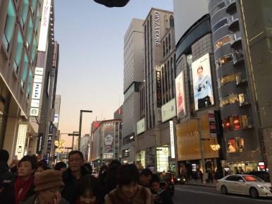 Tokyo Ginza neighborhood