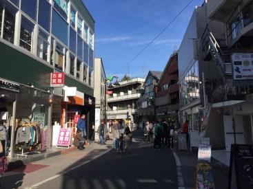 Shibuya, Tokyo alley with variety shops