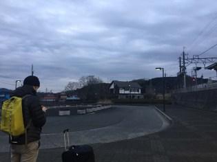 Arriving in Ogawa-machi.