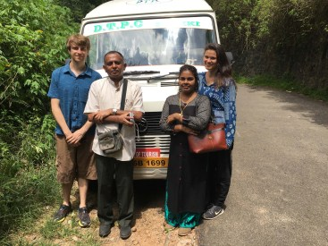 We made quick friends with this lovely couple on our Munnar tour.