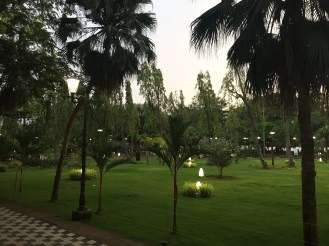 Beautiful park in the