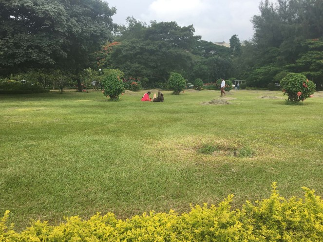 Clean and Green, Cuban Park, Bangalore.