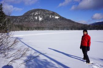 Hiking Mt. Kinsman, Lonesome Lake