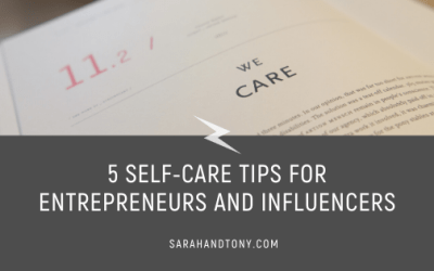 5 Self-Care Tips for Entrepreneurs and Influencers