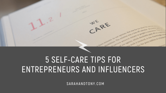 self-care tips entrepreneurs