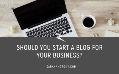 Should you Start a Blog for your Business?