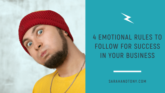 emotional rules for success in your business