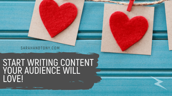 Start Writing Content your Audience