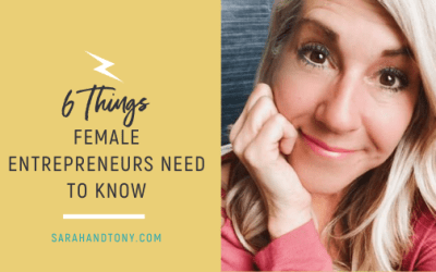 6 THINGS FEMALE ENTREPRENEURS NEED TO KNOW
