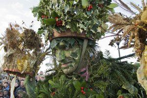 Hollyman, The Lion's Part Plough Monday celebrations, Bankside, London, 2007