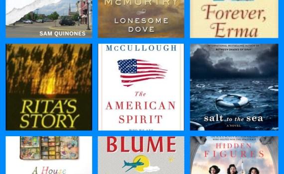 August 2017 Bookshelf