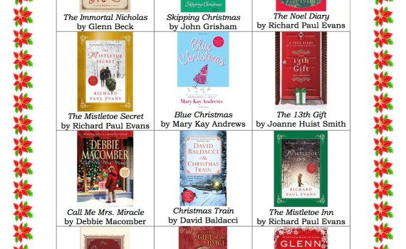 Sarah Anne's 12 Books of Christmas