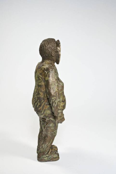Inside Out - 2008 - 9 x 4.5 x 2.5 - Bronze