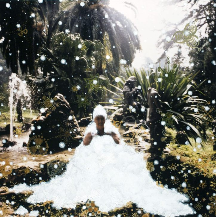Snow Pile - 2009 - 20 x 20 - Acrylic on Inkjet