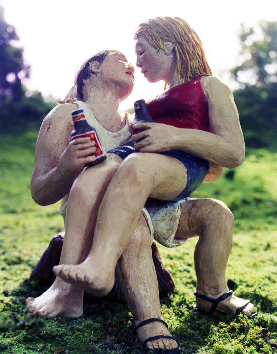 The Kiss - 2003 - 15 x 19 - Chromogenic Print