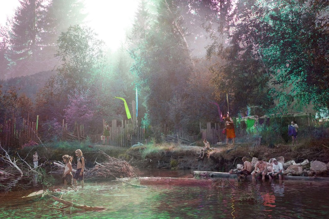 Rainbow River - 2015 - 42 x 28 - Chromogenic Print