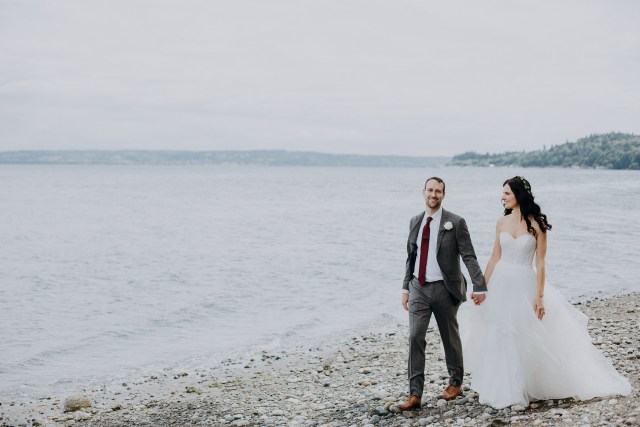 Sarah & Dan's Whidbey Wedding