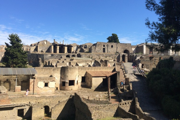 Pompeii, A city frozen in time.