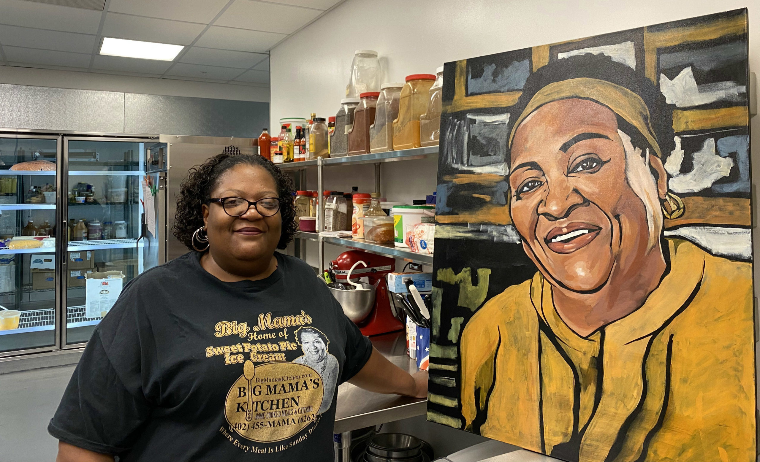Big Mama S Kitchen Is The First Restaurant To Open In The New 75 North Food Hall Sarah Baker Hansen