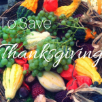 How to Save Thanksgiving