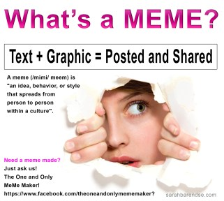What is a meme?