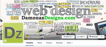 Damonaz Design banner