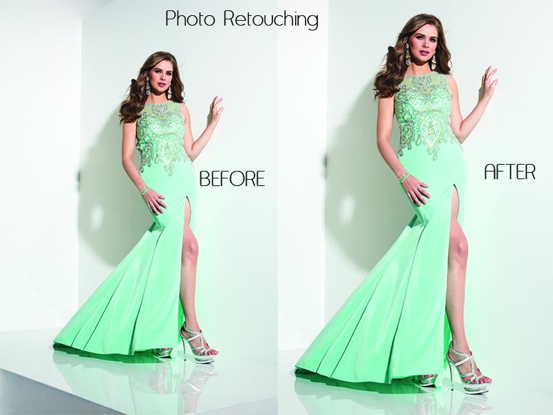 Photo retouching 1