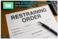 restraining order