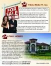 paulhomes.com flyer