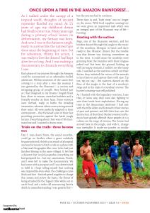 GURU MAGAZINE Issue 14 Sarah Begum, Amazon Souls2