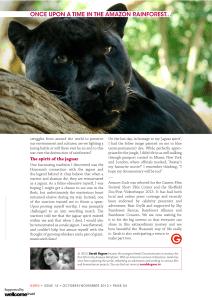 GURU MAGAZINE Issue 14 Sarah Begum, Amazon Souls3