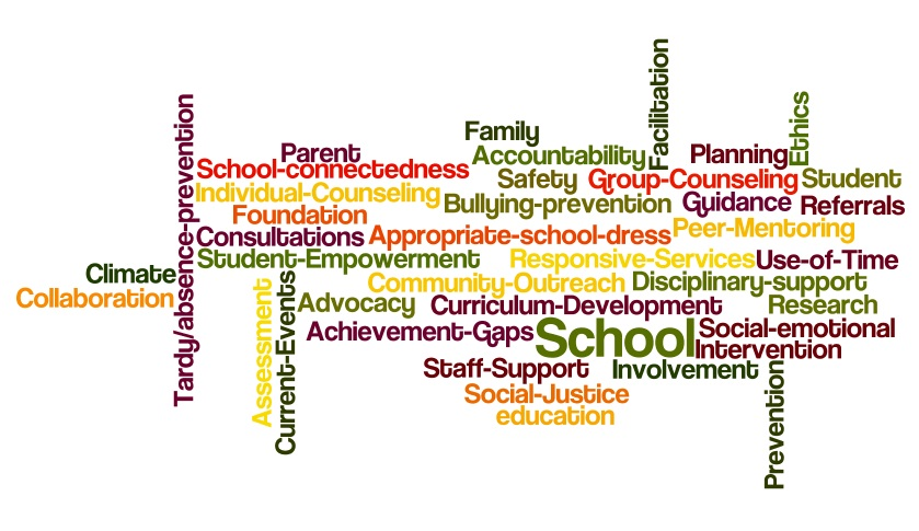 School Counselor In A Wordle Sarah Behm