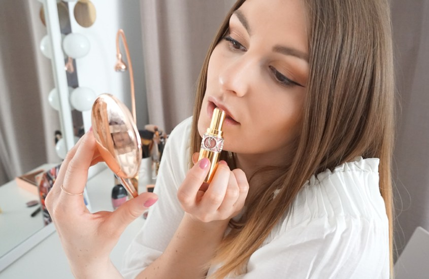 Oster-Make-up-Look mit Flaconi
