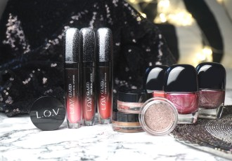 LOV cosmetics Winter Exclusive Collection