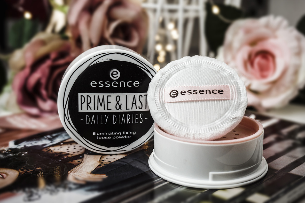 Mein Oktober-Liebling: essence Illuminating Fixing Loose Powder / Daily Diaries
