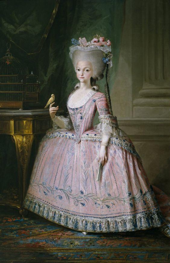 Carlota Joaquina de Bourbon, Queen of Portugal and Princess of Spain. 1785.