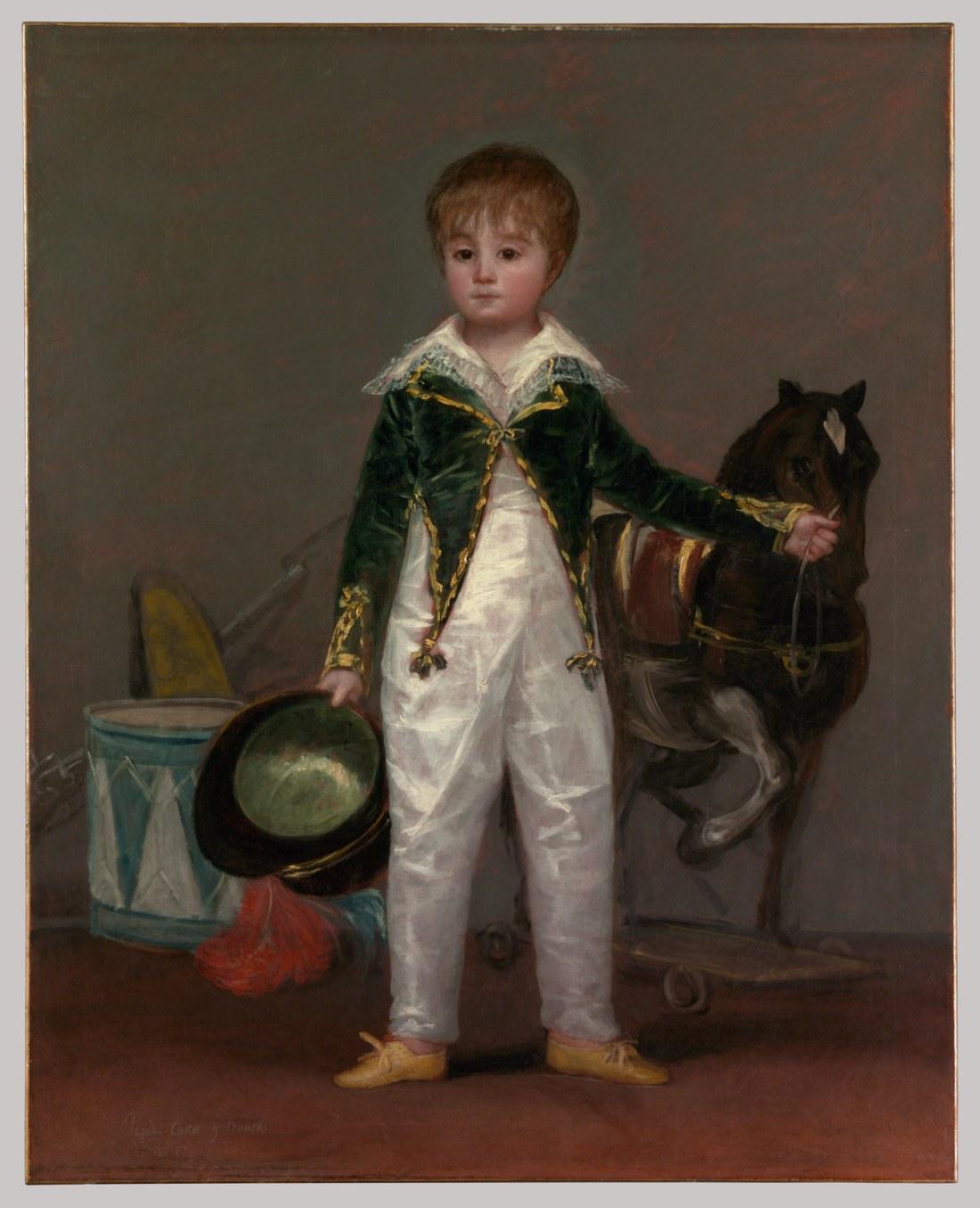 José Costa y Bonells (called Pepito). ca.1810.
